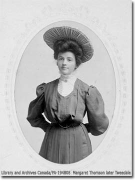 Young Margaret (Thomson) Tweedale