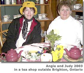 Angie and Judy, Brighton, Ontario, Canada